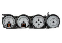 1970-74 Dodge Challenger / 1970-74 Plymouth Cuda w/ Rallye Dash HDX Instrument with Silver Alloy Background