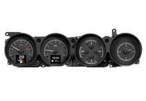 1970-74 Dodge Challenger / 1970-74 Plymouth Cuda w/ Rallye Dash HDX Instrument with Black Alloy Background