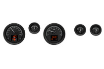 1970-81 Pontiac Firebird HDX Instruments with Black Alloy Background