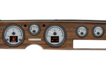 1970-81 Pontiac Firebird HDX Instruments with Silver Alloy Background (Bezel NOT Included)