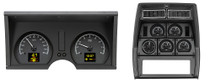 1978-82 Chevy Corvette HDX Instruments Black Alloy Background (Bezel NOT Included)