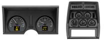 1978-82 Chevy Corvette HDX Instruments Black Alloy Background (Bezel NOT Included)
