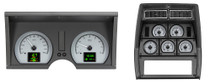 1978-82 Chevy Corvette HDX Instruments Silver Alloy Background (Bezel NOT Included)