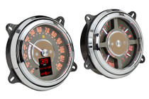 1947-53 Chevy/GMC Pickup RTX Instrument System side view illuminated