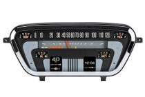 1953-55 Ford Pickup RTX Instrument System illuminated view