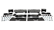2020 Ford F-250/F-350 Super Duty Ultimate Rear Helper Bag Kit mounting brackets