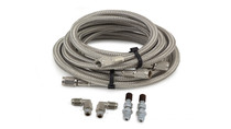 2020 Ford F-350/F-350 Super Duty Ultimate Plus Rear Helper Bag Kit- Stainless steel braided airlines