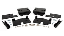 2009-2015 Ford Raptor 4WD Ultimate Plus Rear Helper Bag Kit brackets