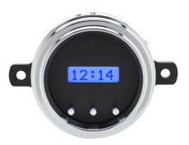 1949-50 Ford Car VHX Digital Clock - Black Alloy Background