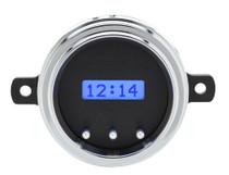 1949-50 Ford Car VHX Digital Clock - Black Alloy Background