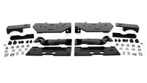 2020 Ford F-250/F-350 Super Duty (Single Wheel) Ultimate Plus Rear Helper Bag Kit - mounting brackets