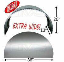 "Extra Wide 36"" Wheel Tubs With Side Panel"