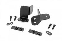 Polaris Rear Facing 2-Inch/3-Inch LED Kit (19-21 Ranger) - mounting brackets