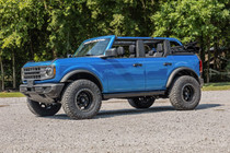 2021 Ford Bronco drivers side view with 2 Inch Lift Kit