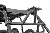 Cargo Rack Spare Tire Carrier | Polaris RZR (2015-2019) displayed on vehicle