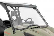 Can-Am Scratch Resistant Full Windshield (11-20 Commander) Side View