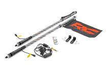 Polaris LED Whip Light Bed Mount Kit (12-20 RZR 170 EFI)
