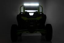 Polaris Rear-Facing 30-Inch LED Kit (19-21 RZR Turbo S) Illuminated view