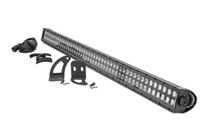 "LED Light | Cab Mount | 50"" Black Dual Row | Can-Am Defender (16-21)"