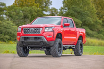 6 Inch Lift Kit - 2022 Nissan Frontier 2WD/4WD  vehicle front view with lift kit