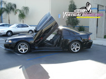 Vertical Doors 1999-2004 FORD MUSTANG  Bolt on Lambo Door Kit
