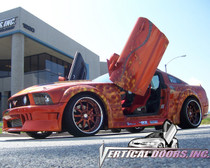 Vertical Doors 2005-2008 FORD MUSTANG  Bolt on Lambo Door Kit