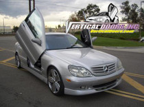Vertical Doors 2000-2006 MERCEDES S-CLASS Bolt on Lambo Door Kit