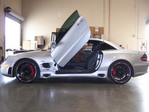 Vertical Doors 2005-2007 MERCEDES SLK Bolt on Lambo Door Kit