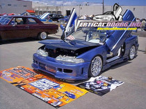 1990-1993 Acura Integra Bolt on Lambo Door Kit (3 Door and 4 Door)