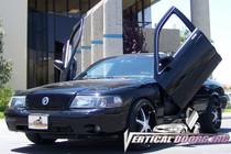 Vertical Doors 2003-2004 MERCURY MARAUDER Bolt on Lambo Door Kit - displayed on vehicle