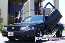 Vertical Doors 2003-2004 MERCURY MARAUDER Bolt on Lambo Door Kit - displayed on vehicle
