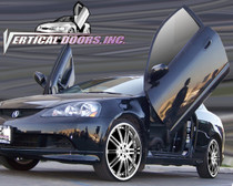Vertical Doors 2002-2007 Acura RSX Bolt On Lambo Door Kit - displayed on vehicle