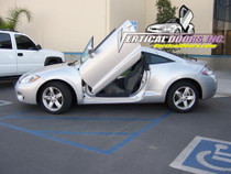 2006-2009 MITSUBISHI ECLIPSE Bolt on Lambo Door Kit (2 Door) - displayed on vehicle