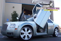 Vertical Doors 2004-2010 CHRYSLER 300 Bolt on Lambo Door Kit - displayed on vehicle