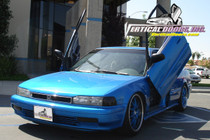 1990-1993 HONDA ACCORD Bolt on Lambo Door Kit (4 Door w/Modification) - displayed on vehicle