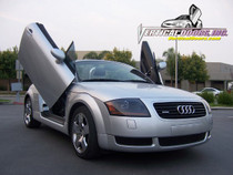 Vertical Doors 1999-2006 Audi TT Bolt on Lambo Door Kit - displayed on vehicle