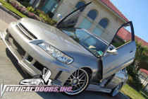Vertical Doors 1998-2002 HONDA ACCORD  Bolt on Lambo Door Kit (4 Door) - displayed on vehicle