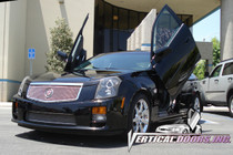 Vertical Doors 2002-2007 CADILLAC CTS Bolt on Lambo Door Kit- displayed on vehicle