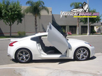 Vertical Doors 2009-UP NISSAN 370Z Bolt on Lambo Door Kit (2 Door)