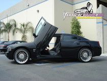 Vertical Doors 2005-2010 Dodge Charger Bolt on Lambo Door Kit - displayed on vehicle