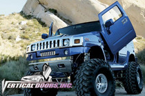 Vertical Doors 2003-2009 Hummer H2 Bolt on Lambo Door Kit