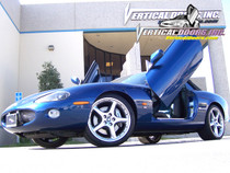 Vertical Doors 1997-2006 JAGUAR XK8/XKR Bolt on Lambo Door Kit
