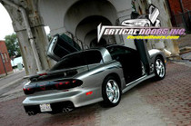 1998-2002 PONTIAC FIREBIRD/TRANS AM Bolt on Lambo Door Kit - displayed on a vehicle
