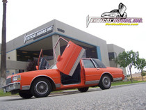 Vertical Doors 1977-1990 CHEVY CAPRICE Bolt on Lambo Door Kit - displayed on a vehicle