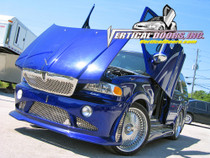 Vertical Doors 1997-2002 LINCOLN NAVIGATOR Bolt on Lambo Door Kit - displayed on a vehicle