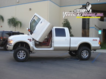 1999-2008 FORD F350/F250/SUPERDUTY Bolt on Lambo Door Kit - displayed on a vehicle