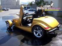 Vertical Doors 1997-2002 PLYMOUTH PROWLER Bolt on Lambo Door Kit