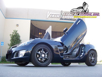 Vertical Doors 2007-2008 SATURN SKY  Bolt on Lambo Door Kit - displayed on a vehicle