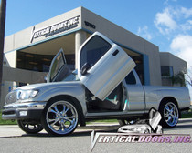 Vertical Doors 1995-2004 TOYOTA TACOMA TRUCK Bolt on Lambo Door Kit - displayed on a vehicle