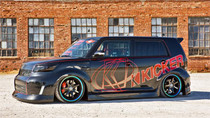 08-16 Scion xB AirLift SLAM KIT with Manual Air Management w/o Shocks